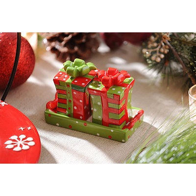 Christmas Gift Salt & Pepper Shakers