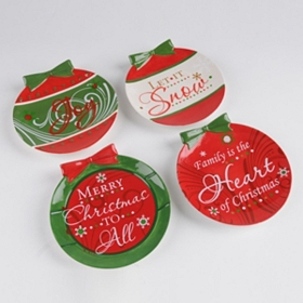 Christmas Ornament Plate