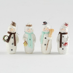 Old Fashioned Snowman Ornament