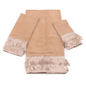 Taupe Flutter 3-pc. Towel Set