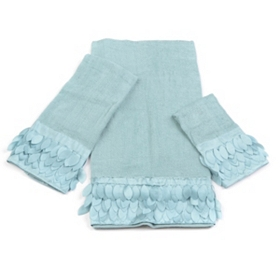 Blue Flutter 3-pc. Towel Set