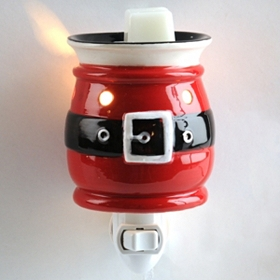 Ceramic Santa Suit Tart Burner Night Light