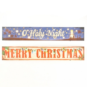 Merry Christmas LED Canvas Panels