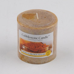 Vanilla Brown Sugar Pillar Candle