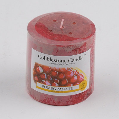 Pomegranate Pillar Candle