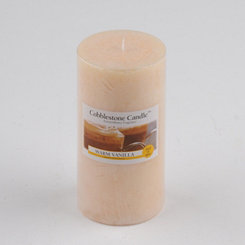 Warm Vanilla Pillar Candle, 6 in.