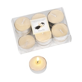Ivory Warm Vanilla Tealight Candle, 12pk