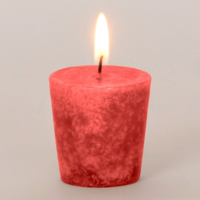 Burgundy Pomegranate Votive Candle