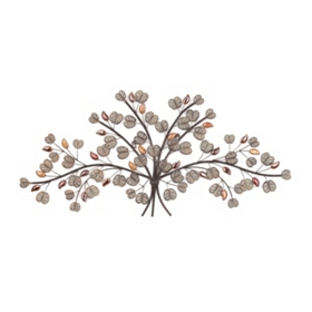 Fall Foliage Wall Plaque