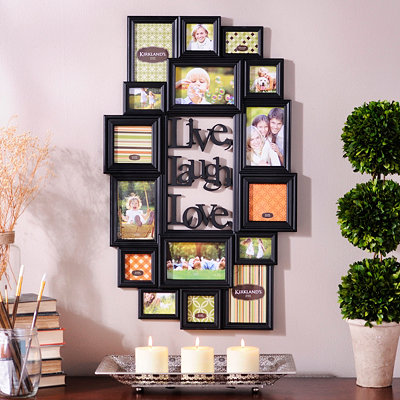 Live Laugh Love Collage Frame