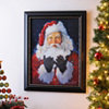 Santa, Let It Snow Framed Art Print