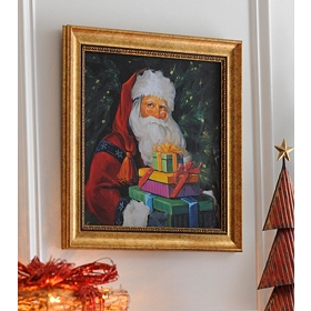 Don't Open 'Til Christmas Framed Art Print