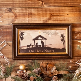 Oh Holy Night Framed Art Print