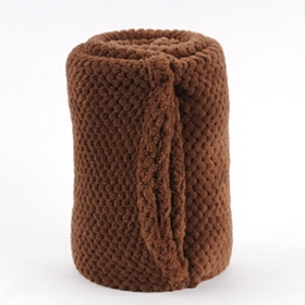 Chocolate Heavenly Plush Throw