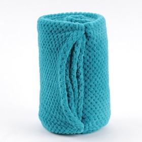 Turquoise Heavenly Plush Throw