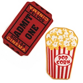 Movie Theater Accent Rugs