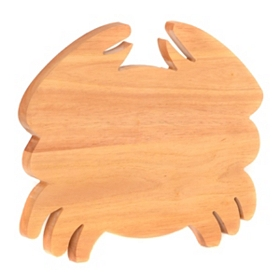 Wooden Crab Cutting Board