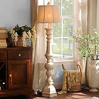 GMackinaw Cream Floor Lamp