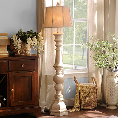 Mackinaw Cream Floor Lamp