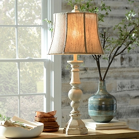 Mackinaw Cream Table Lamp