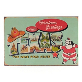 Christmas Greetings from Texas Art Box