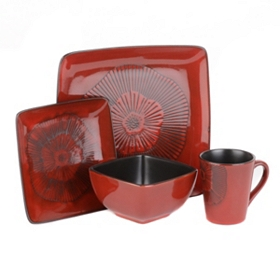 Laurette 16-pc. Dinner Set