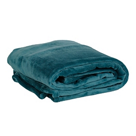 Teal Luxury Plush Throw Blanket