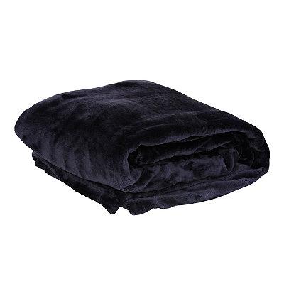 Plum Luxury Plush Throw Blanket