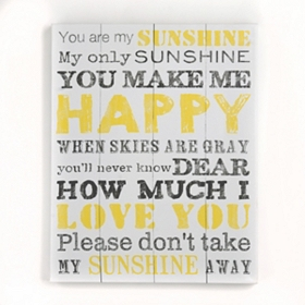 My Sunshine Canvas Art