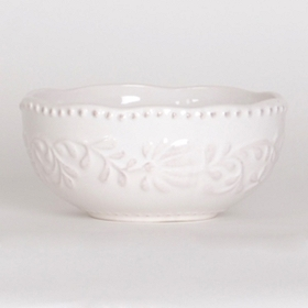 Bianca Leaf Soup Bowl