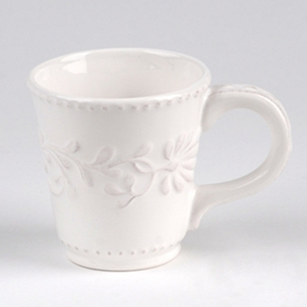 Bianca Leaf Beverage Mug