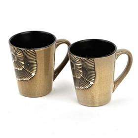Ivory Laurette Mug