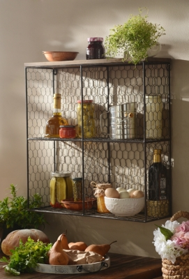 Open Wire Shelf Unit