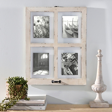 window pane collage frame 20x26 - Window Pane Picture Frame