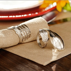 Silverware Napkin Ring