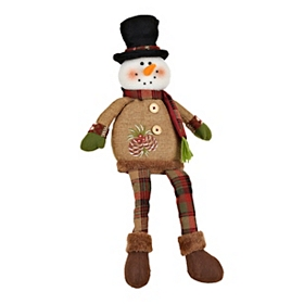 Rustic Snowman Shelf Sitter