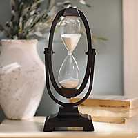 Bronze Hourglass on Stand