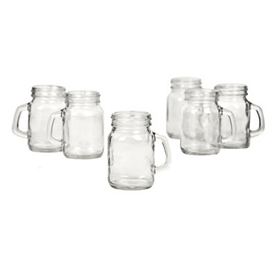 Mason Jar Shooters, Set of 6