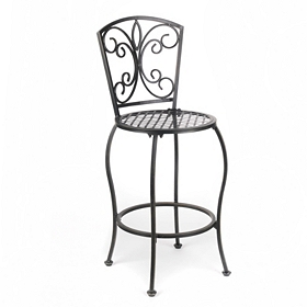 Sienna Metal Bistro Bar Stool, Set of 2