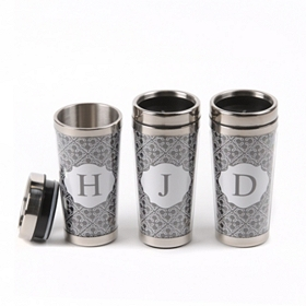 Stainless Steel Monogram Tumbler
