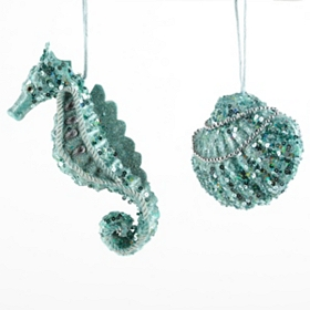 Under the Sea Ornament, Set of 2