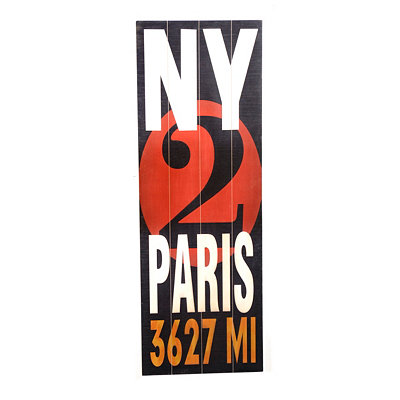 NY2PARIS Wood Wall Panel