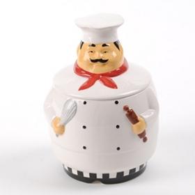 Talking Chef Cookie Jar