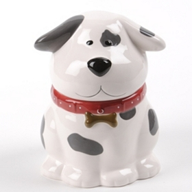 Talking Dog Cookie Jar