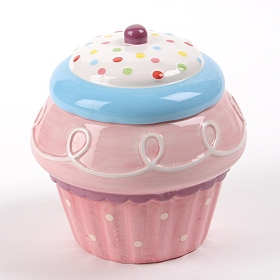 Talking Cupcake Cookie Jar