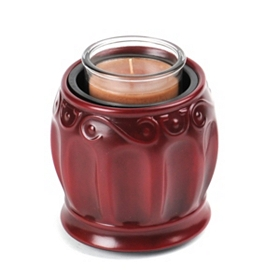 Roman Red Candle Warmer