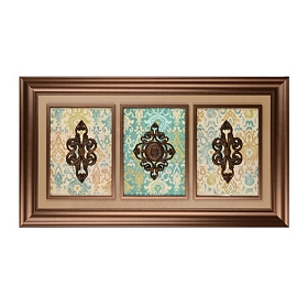 Peacock Shadowbox Trio