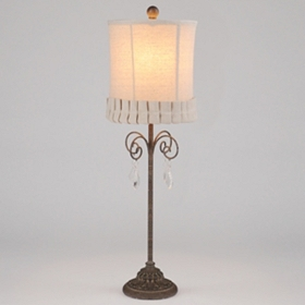 Cora Crystal Buffet Lamp