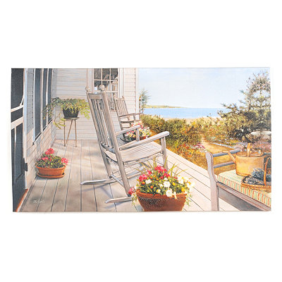 Island Shelter Canvas Art Print
