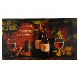 Bottle of Red Canvas Art Print
